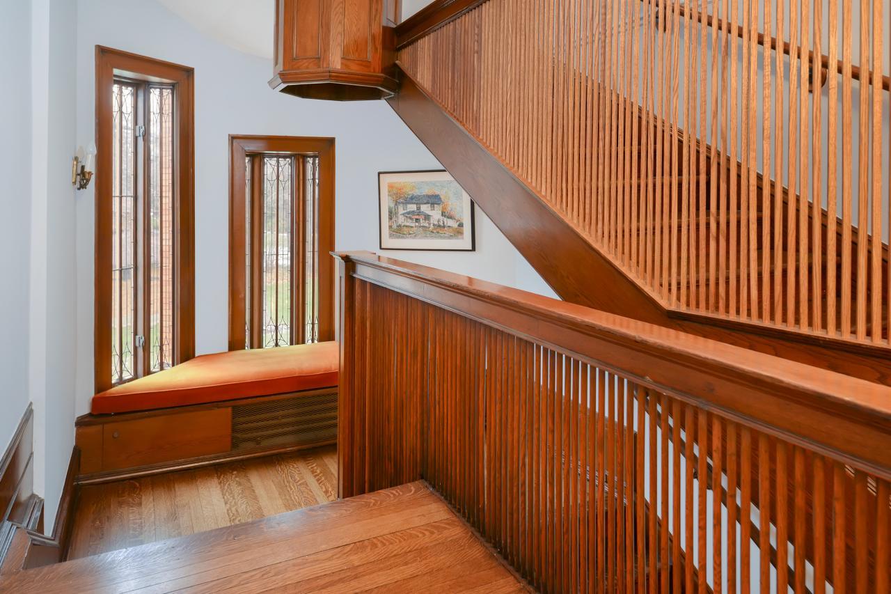 Frank Lloyd Wright Flooring : Tour rare frank lloyd wright winslow house interior