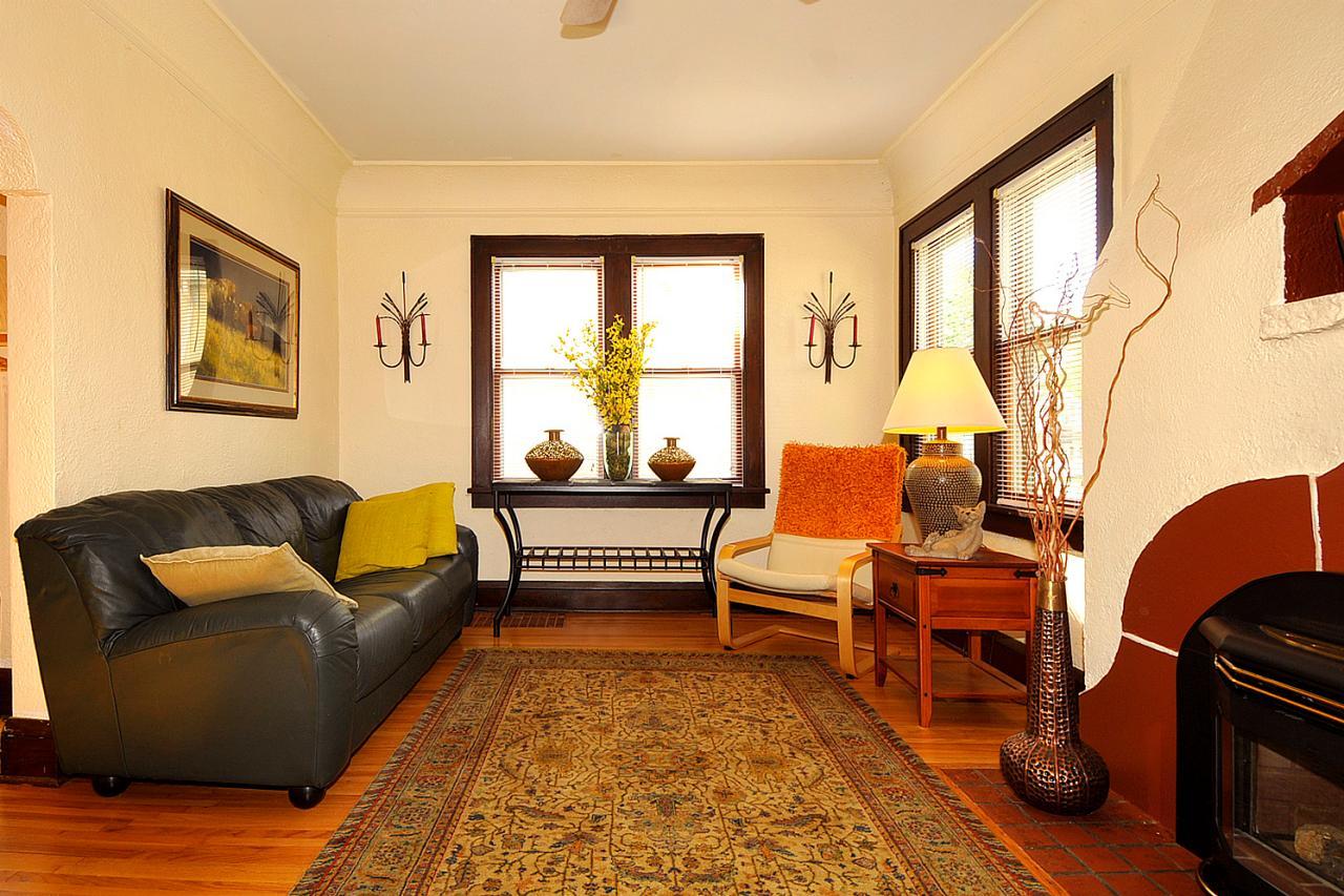 tiny home tour minneapolis bungalow home styles hgtv ForThe Living Room Minneapolis Mn