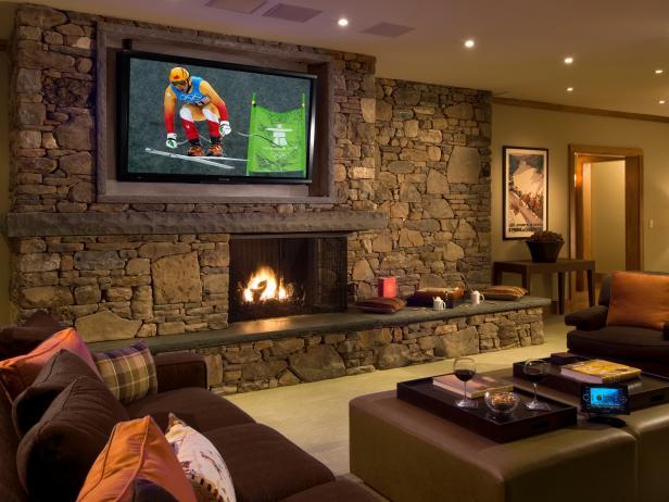 Rustic Living Room Ideas & Decorating