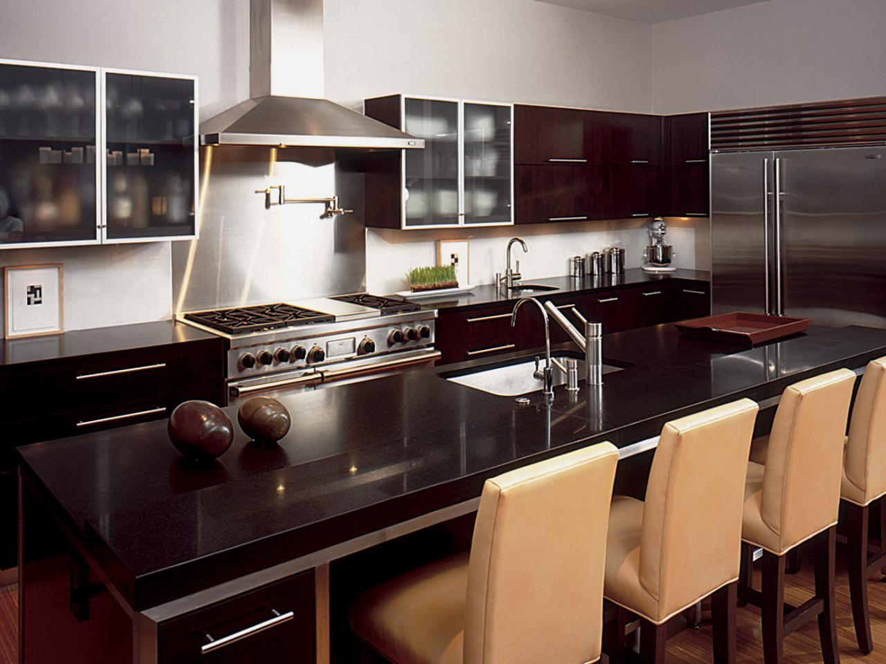 dark granite countertops kitchen designs choose