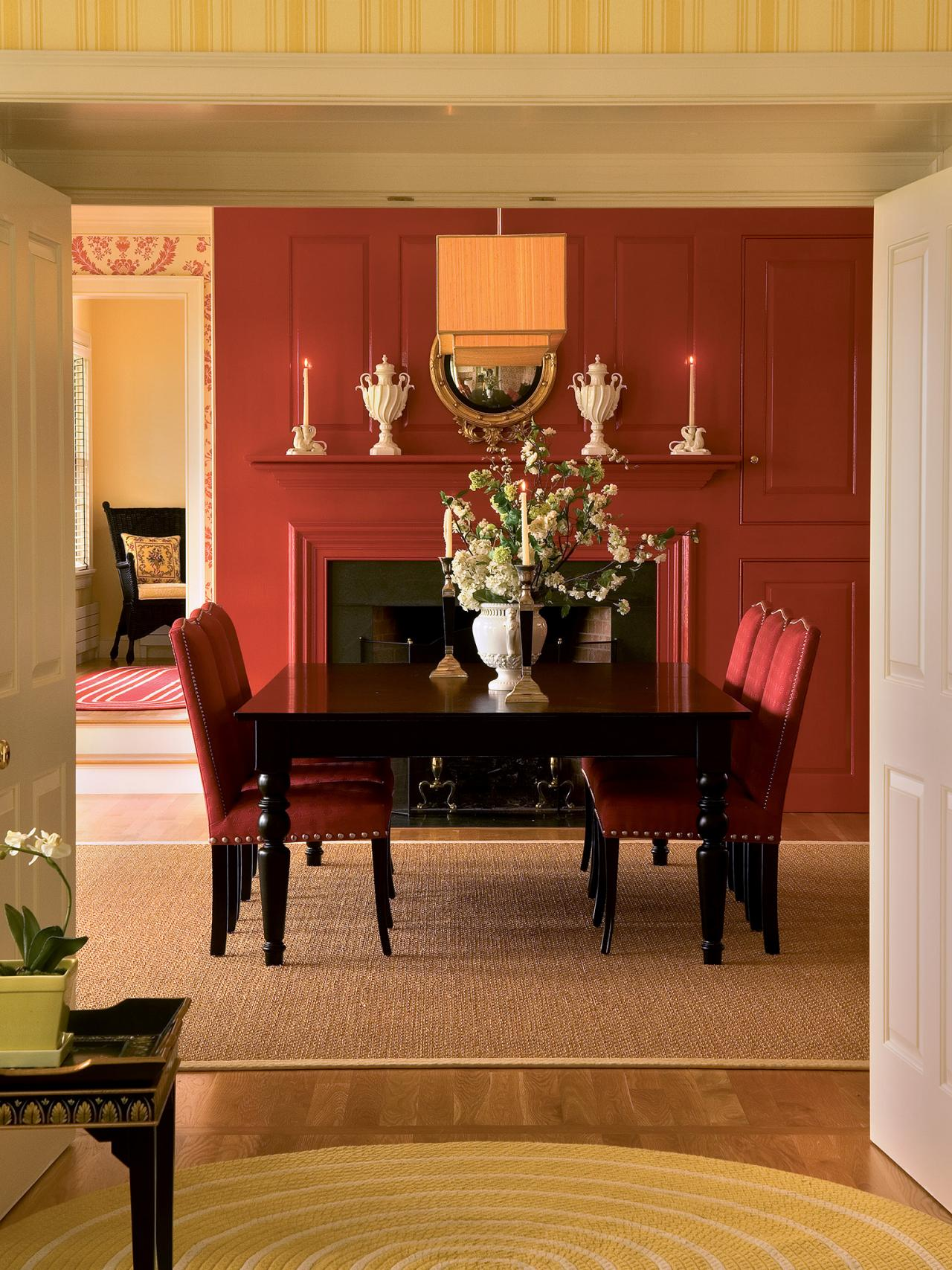 How to chose the right color scheme for your space color for Dining room colour schemes