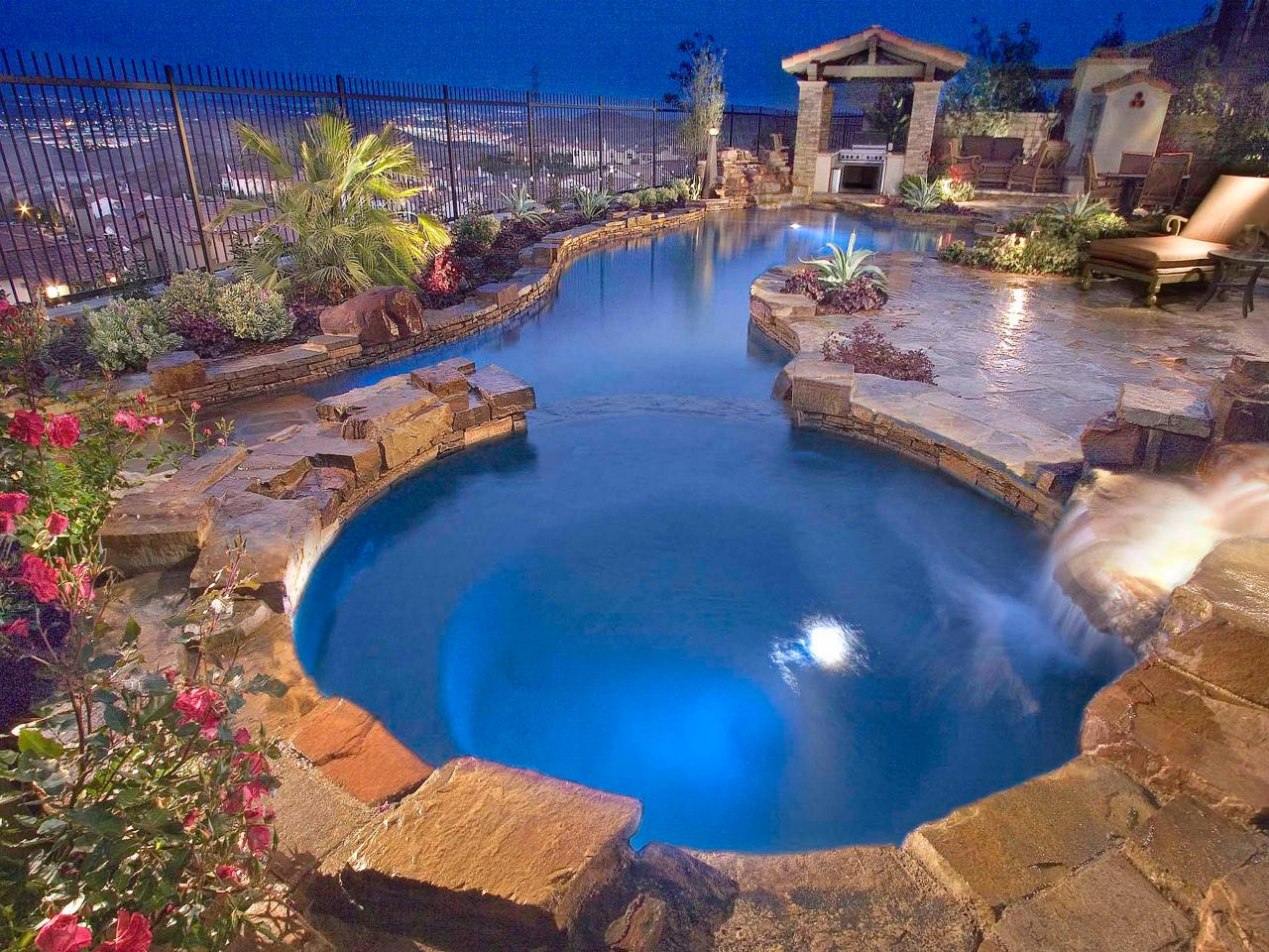 Lagoon Swimming Pool Designs : Lagoon Swimming Pool Designs : Pool Deck Surface Options