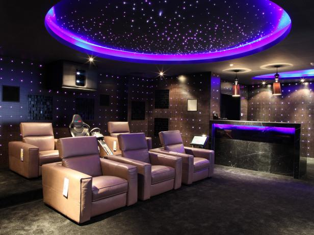 Home theater design ideas pictures tips options home remodeling ideas for basements for Home theater room pictures design