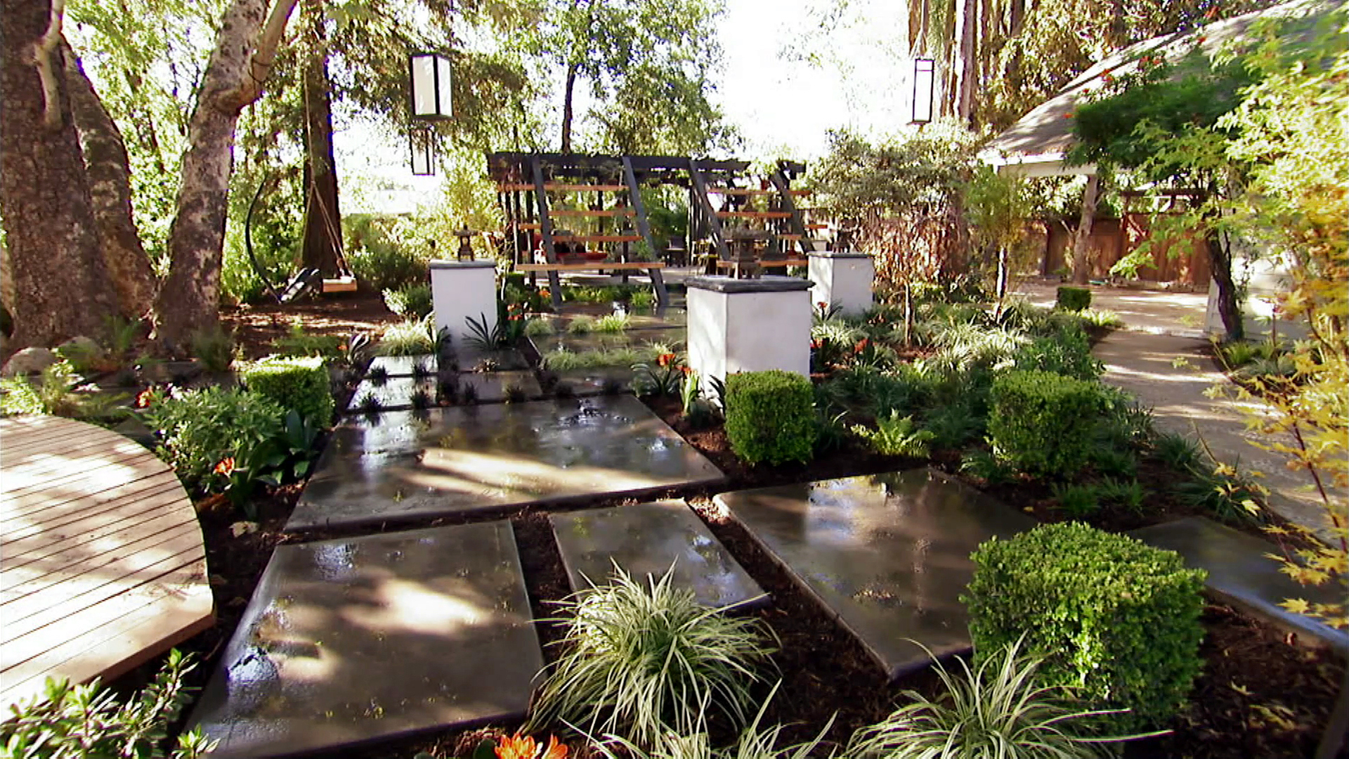 Zen Inspired Backyard Makeover | The Outdoor Room With Jamie Durie on backyard ideas green, backyard ideas fun, backyard ideas japanese, backyard ideas wood, backyard ideas creative, backyard ideas modern, backyard ideas design, backyard ideas water,