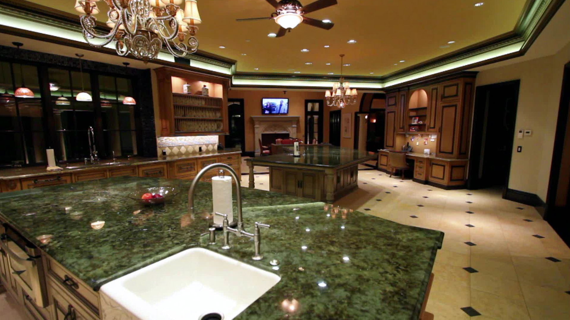 Amazing 2-story Gym, Kitchen, & One-of-a-kind Indoor Pool ...