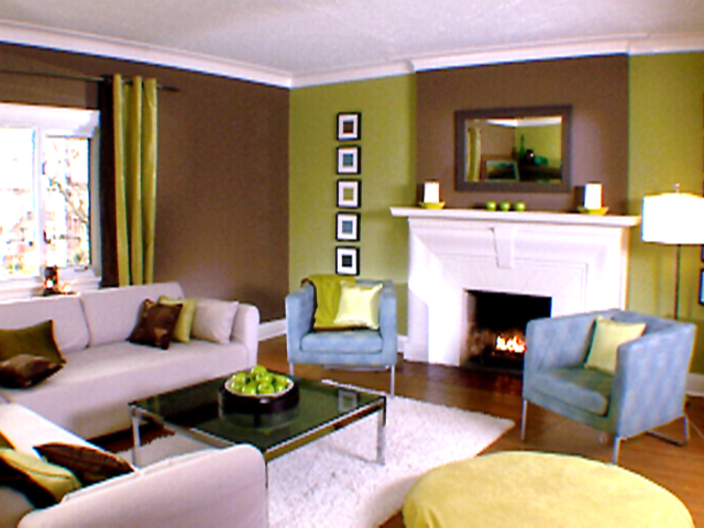 Ideas To Decorate The Living Room Green Living Room Ideas & Decorating  Hgtv
